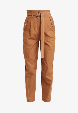 UTILITY POCKET TROUSER - Pantalones - camel