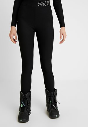 SNO THERMAL - Legginsy - black
