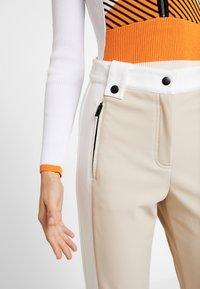 Topshop - SNO ALDRIN - Pantaloni - tan/white - 4