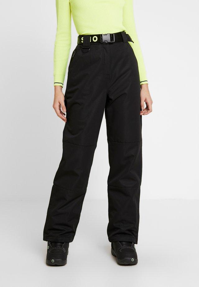 SNO MOON - Pantaloni - black