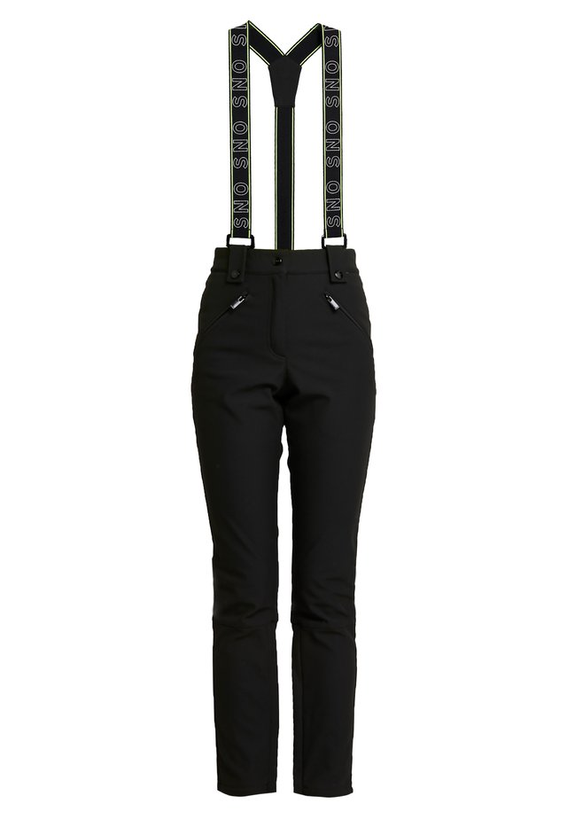 SNO BLACK ANDRE - Trousers - black