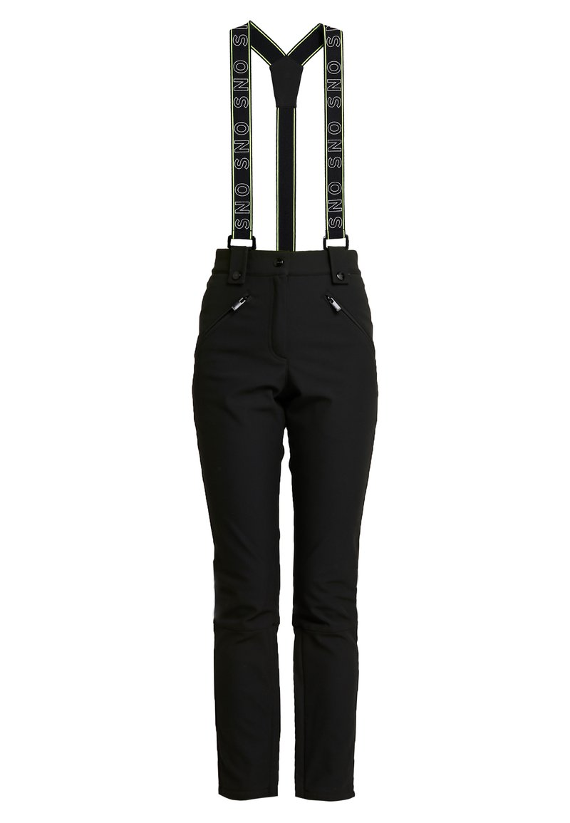 Topshop - SNO BLACK ANDRE - Pantaloni - black