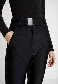 Topshop - SNO VENUS DISCO - Pantaloni - black - 4