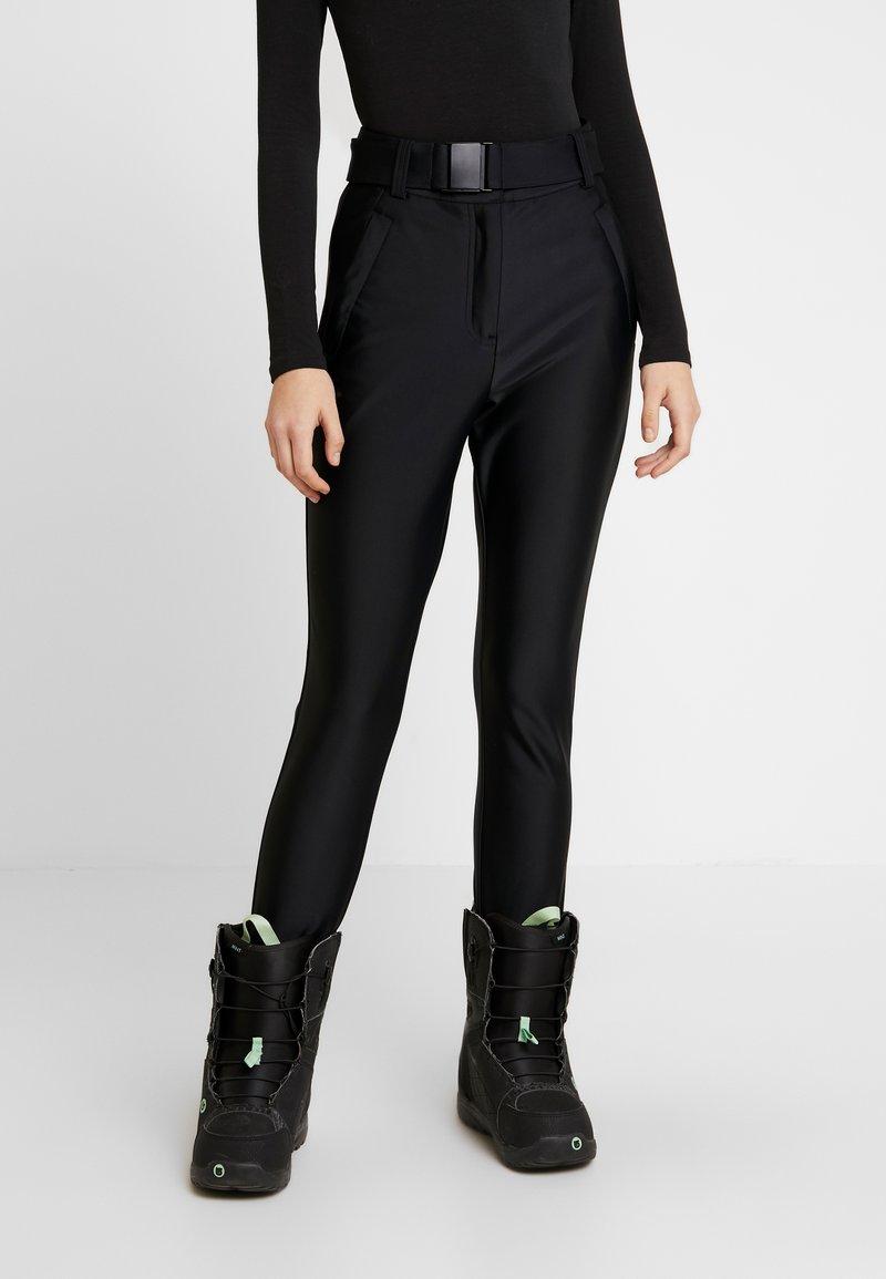Topshop - SNO VENUS DISCO - Pantaloni - black