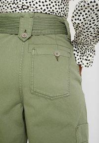 Topshop - NATALIE UTILITY - Trousers - khaki - 6