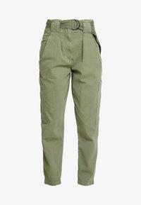 Topshop - NATALIE UTILITY - Trousers - khaki - 5