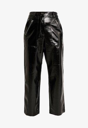 STRAIGHT LEG - Pantalon classique - black