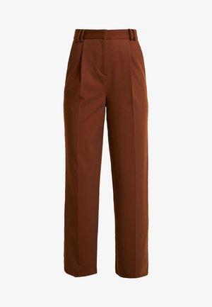 Pantalon classique - chocolate