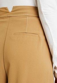 Topshop - MAJOR  - Trousers - ochre - 4