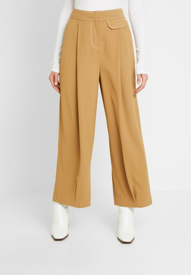 MAJOR  - Pantalones - ochre