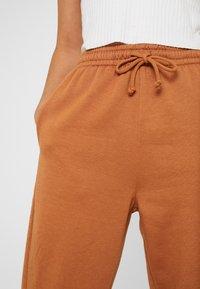 Topshop - BERTIE JOGGER - Tracksuit bottoms - brown - 4
