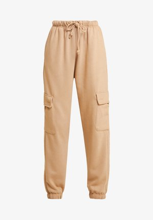 HARRY UTILITY JOGGER - Tracksuit bottoms - tan