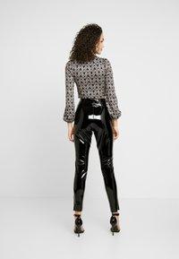 Topshop - PIPER - Kalhoty - black - 2