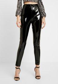 Topshop - PIPER - Kalhoty - black - 0