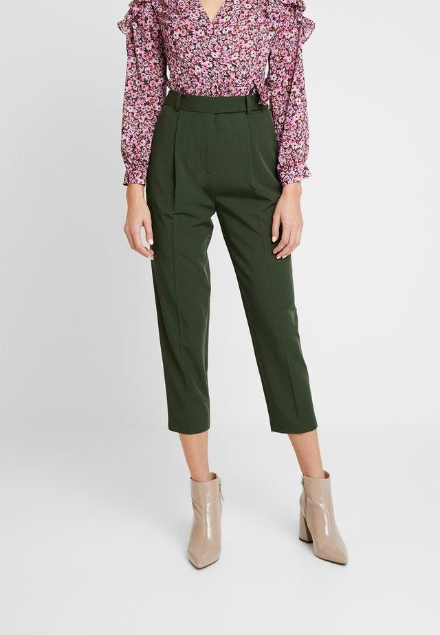 KLARA TROUSER - Pantaloni - green