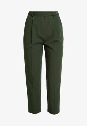 KLARA TROUSER - Kalhoty - green