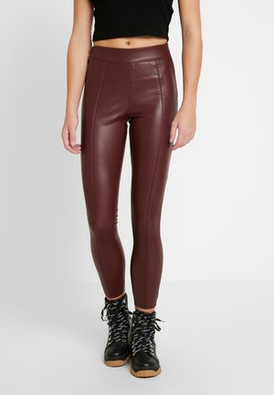 PIPER  - Leggings - Trousers - bordeaux