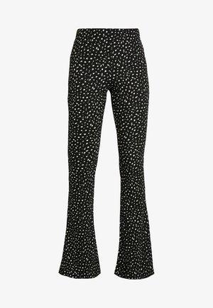 DITSY FLARE - Spodnie materiałowe - mon