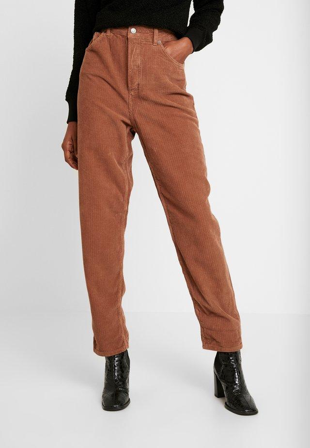 TEDDY BALLOON - Trousers - browm