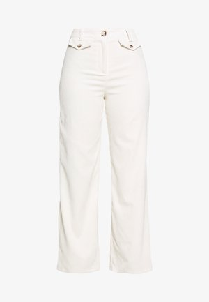 SLOUCH TROUSER - Broek - off-white