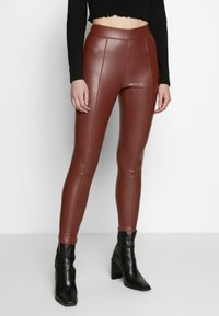Topshop - PIPER  - Trousers - brown - 0