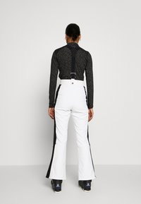 Topshop - EUROPA FLARE  - Kalhoty - white - 2