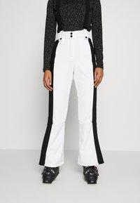 Topshop - EUROPA FLARE  - Kalhoty - white - 0