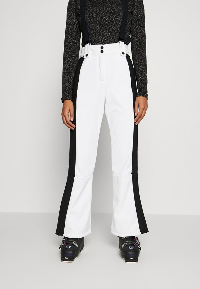 EUROPA FLARE  - Trousers - white
