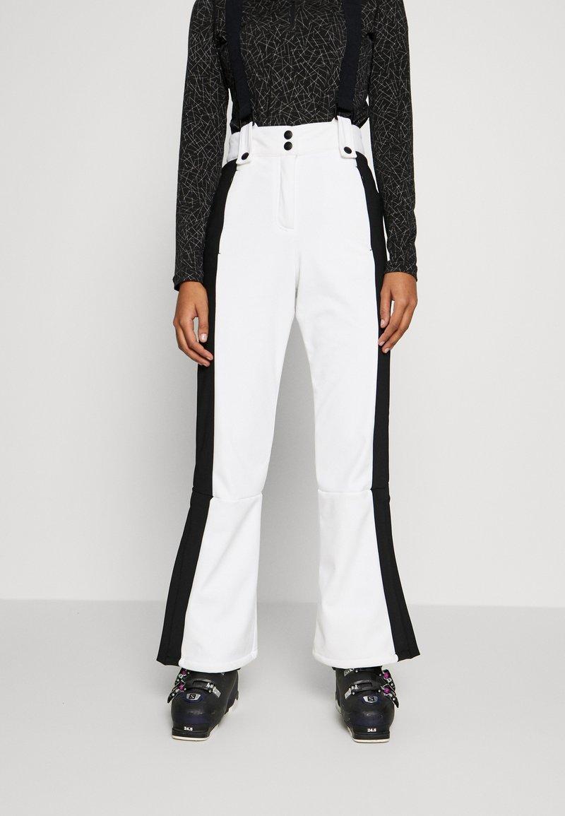 Topshop - EUROPA FLARE  - Kalhoty - white