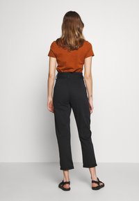 Topshop - BILLY - Trousers - black - 2