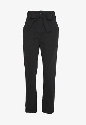 BILLY - Trousers - black