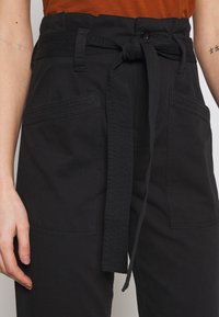 Topshop - BILLY - Trousers - black - 4