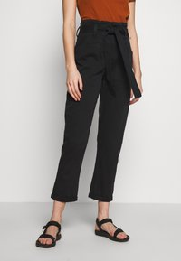 Topshop - BILLY - Trousers - black - 0