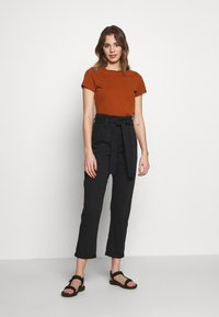 Topshop - BILLY - Trousers - black - 1
