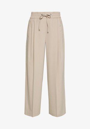 CHERRY JOGGER - Pantalones deportivos - stone