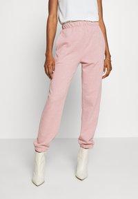 Topshop - BRONTE SLIM JOGGER - Pantalon de survêtement - pink - 0