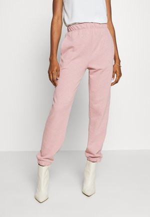 BRONTE SLIM JOGGER - Teplákové kalhoty - pink