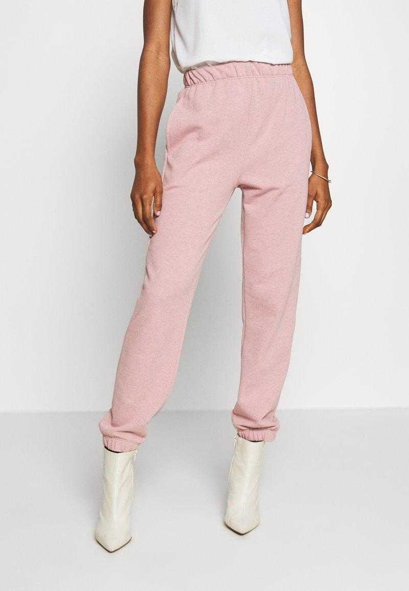 Topshop - BRONTE SLIM JOGGER - Pantalon de survêtement - pink