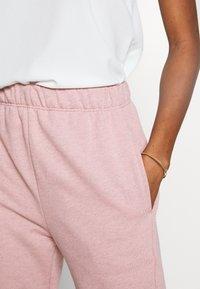 Topshop - BRONTE SLIM JOGGER - Pantalon de survêtement - pink - 4