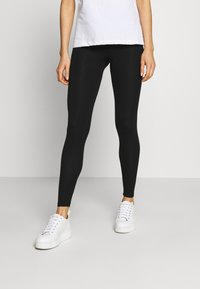 Topshop - ELASTIC 2 PACK - Leggings - black - 2