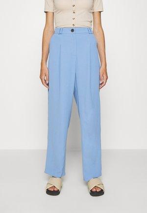 SUIT TROUSERS - Pantalones - blue