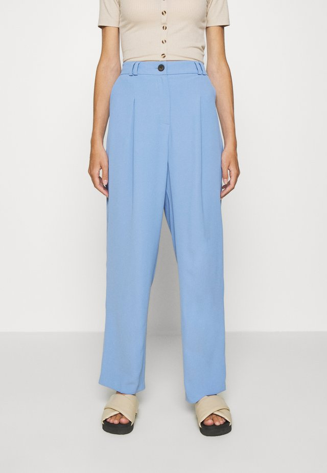 SUIT TROUSERS - Pantaloni - blue
