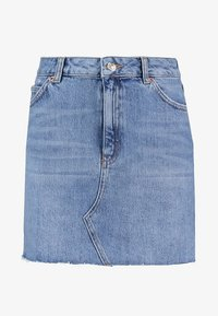Topshop - CLEAN - Denim skirt - blue denim - 4