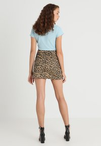 Topshop - NEW LEOPARD - A-snit nederdel/ A-formede nederdele - tan - 3