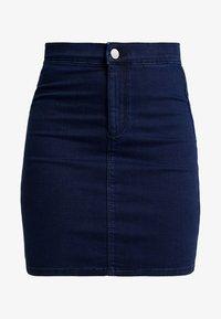 Topshop - JONI SKIRT - Denimová sukně - blue denim - 4
