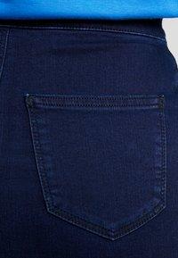 Topshop - JONI SKIRT - Denimová sukně - blue denim - 3