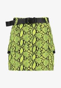 Topshop - LIME SKIRT - Áčková sukně - green - 3