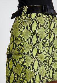 Topshop - LIME SKIRT - Áčková sukně - green - 4