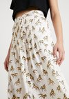 Topshop - WESTERN HORSE - Pleated skirt - white