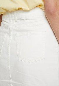 Topshop - A-snit nederdel/ A-formede nederdele - white - 5